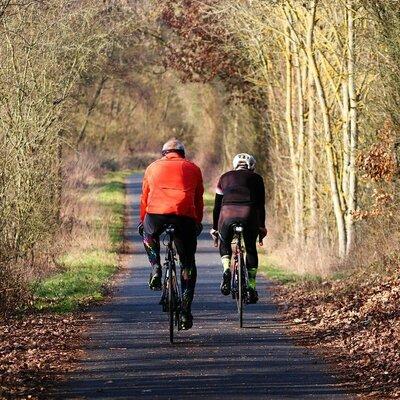 Radtouren im Winter im Odenwald