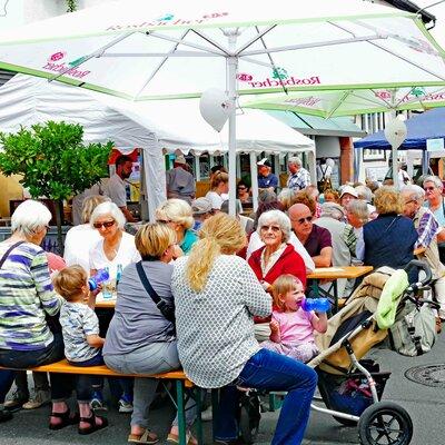 Pfingstmarkt in Bad König im Odenwald