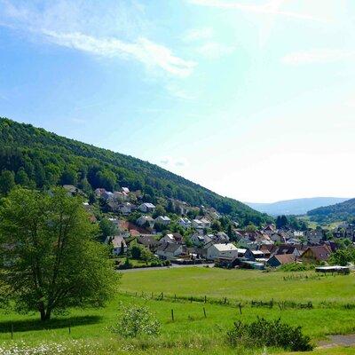 Rüdenau im bayerischen Odenwald