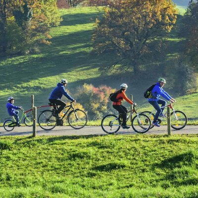 Mit dem Rad an der Bergstraße und im Odenwald unterwegs