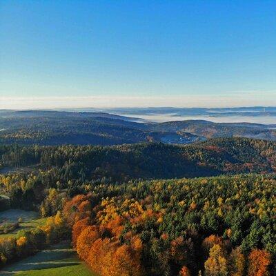 Nebelmeer im Odenwald