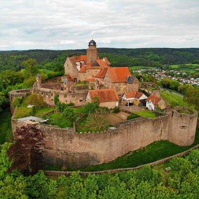 Burg Breuberg im Odenwald