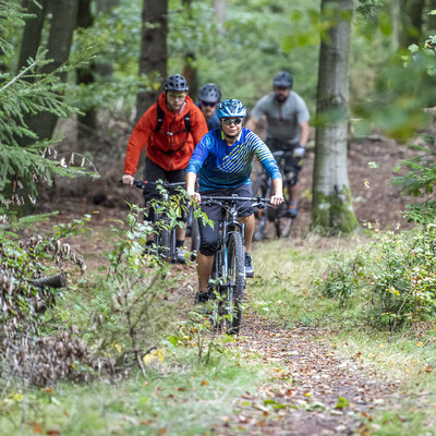 Mountainbiking im Odenwald